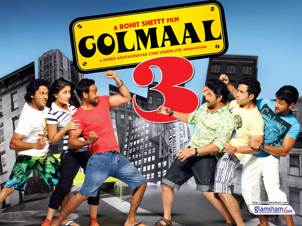 Golmaal 3 (2010) Hindi Movie Watch Full Hd Online