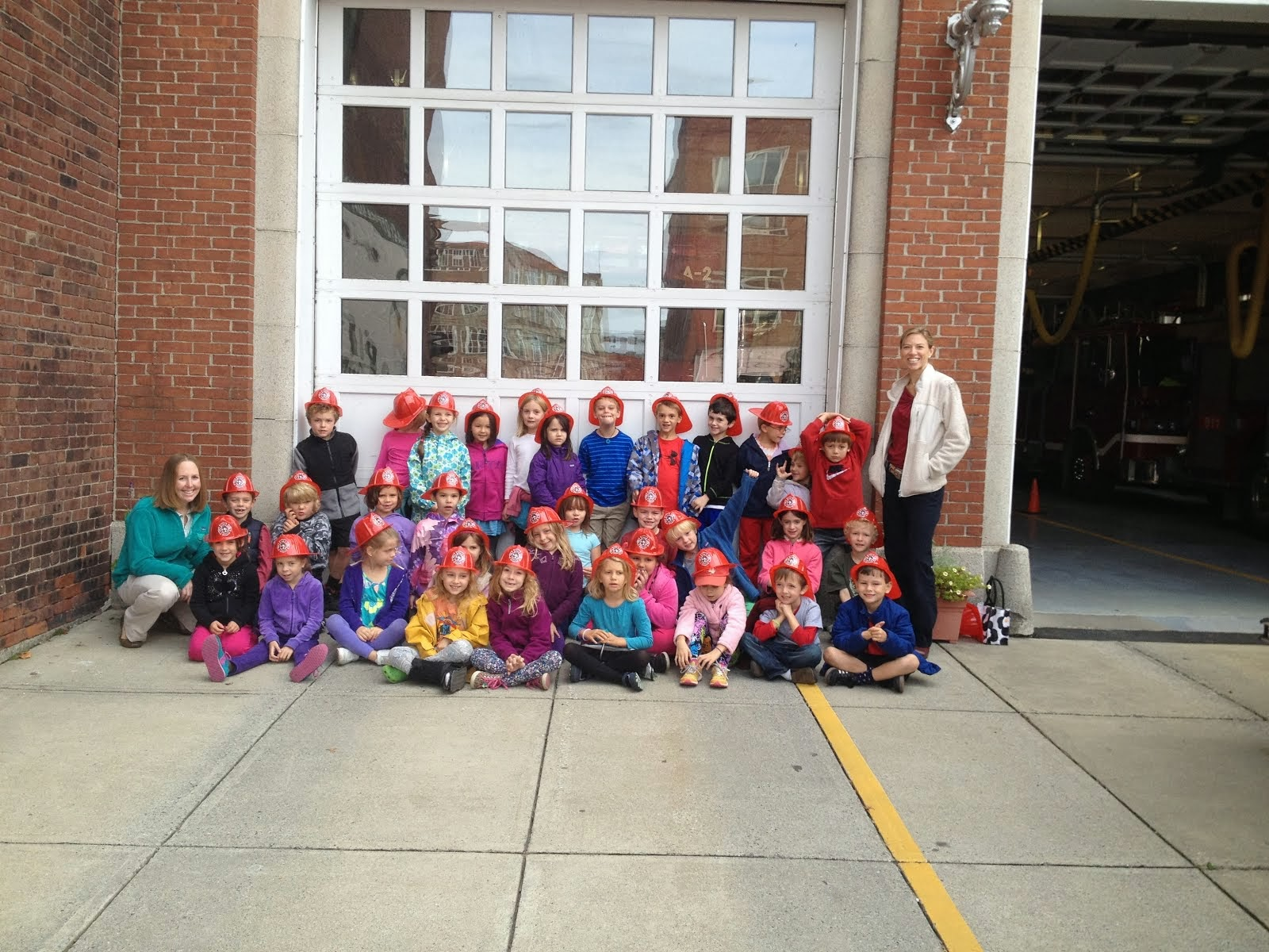 Fall Class Picture- 1st Grade