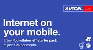 Aircel offering unlimited calling at Rs. 21 and new Data offer