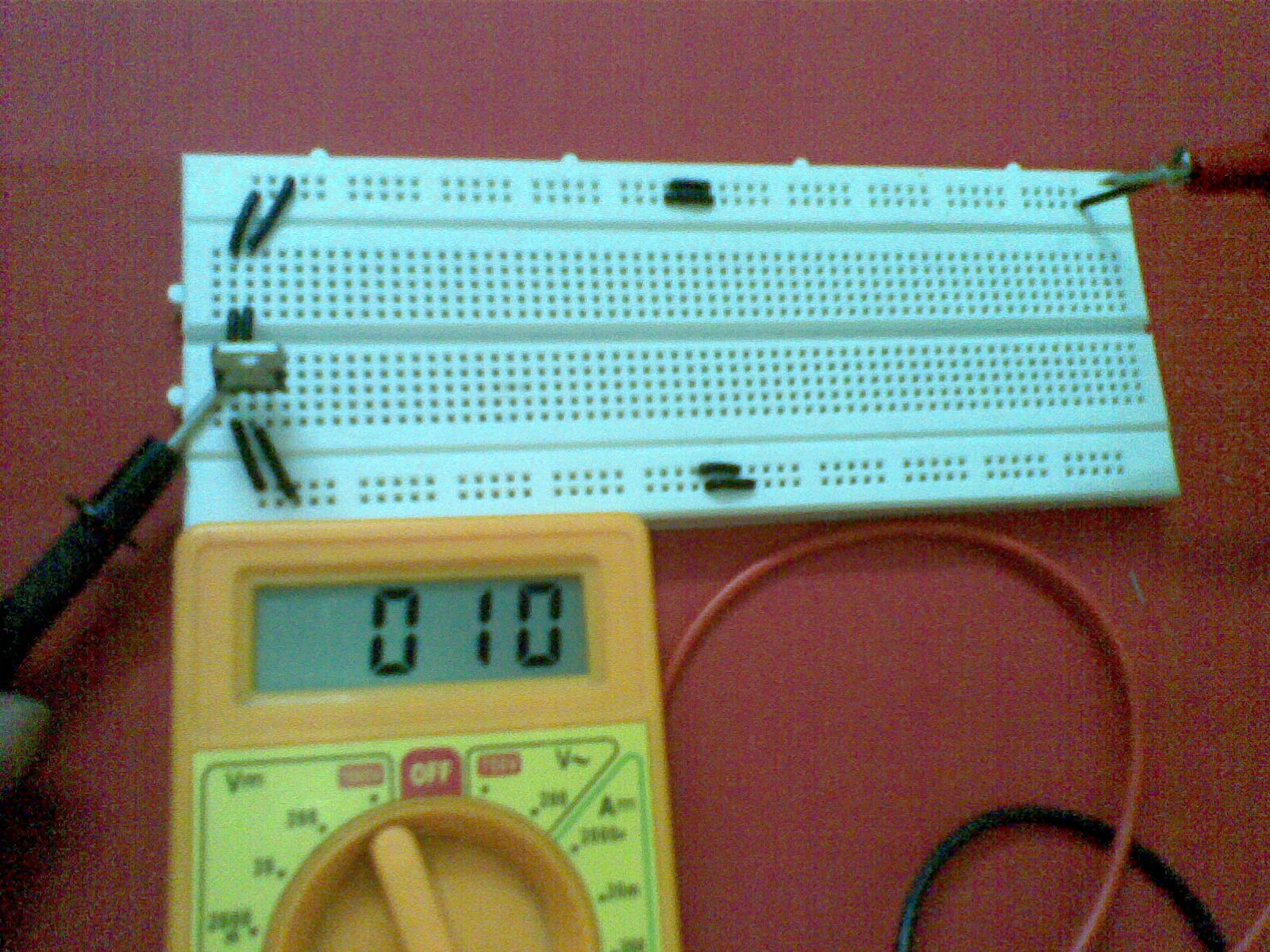 Setting up power supply and using a multimeter: | Lets Learn Electronics