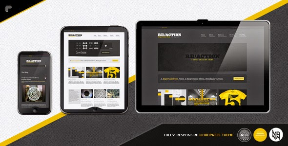 Reaction WP Responsive, Rugged, Bold Version 2.0.5 free