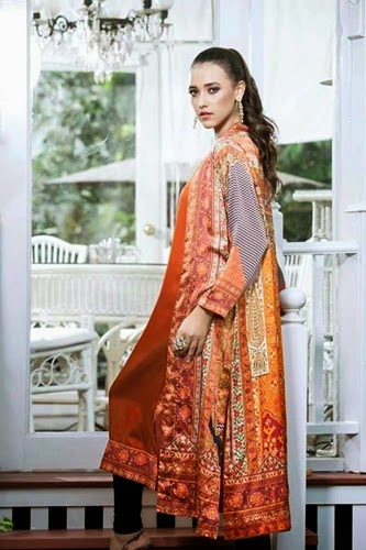 Gul Ahme Stitched Eid Collection 2014