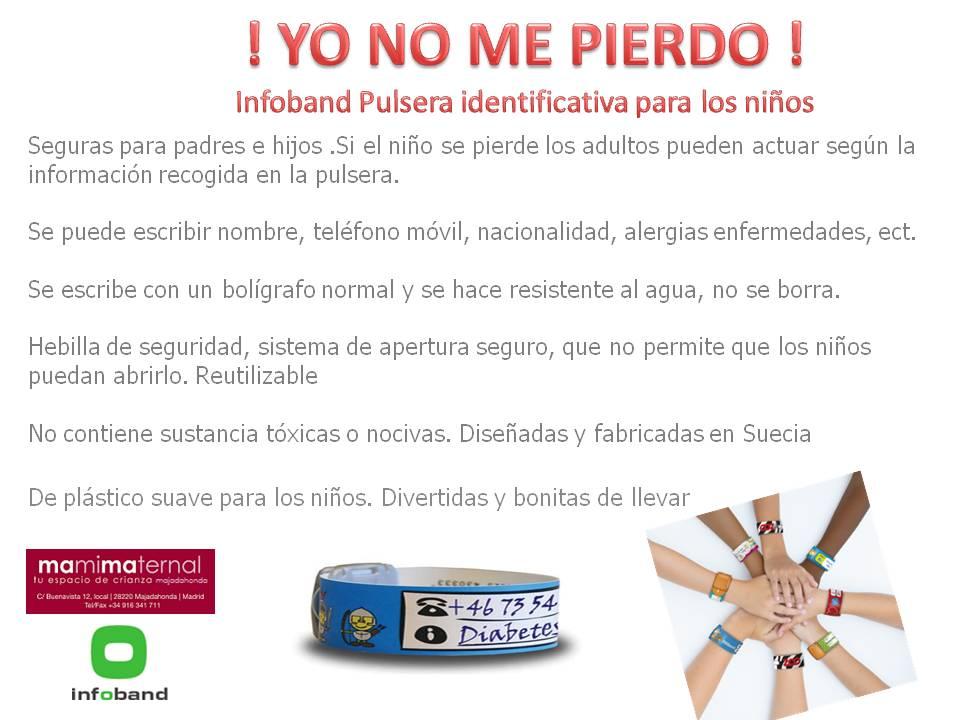 Pulseras infoband
