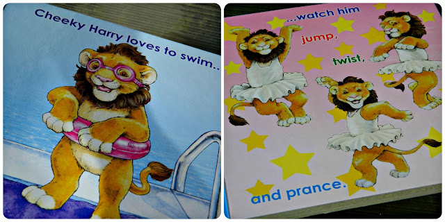 Pages from Cheeky Harry Loves by Laura Payne and Ian King