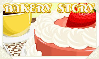 Screenshots of the Bakery Story for Android tablet, phone.