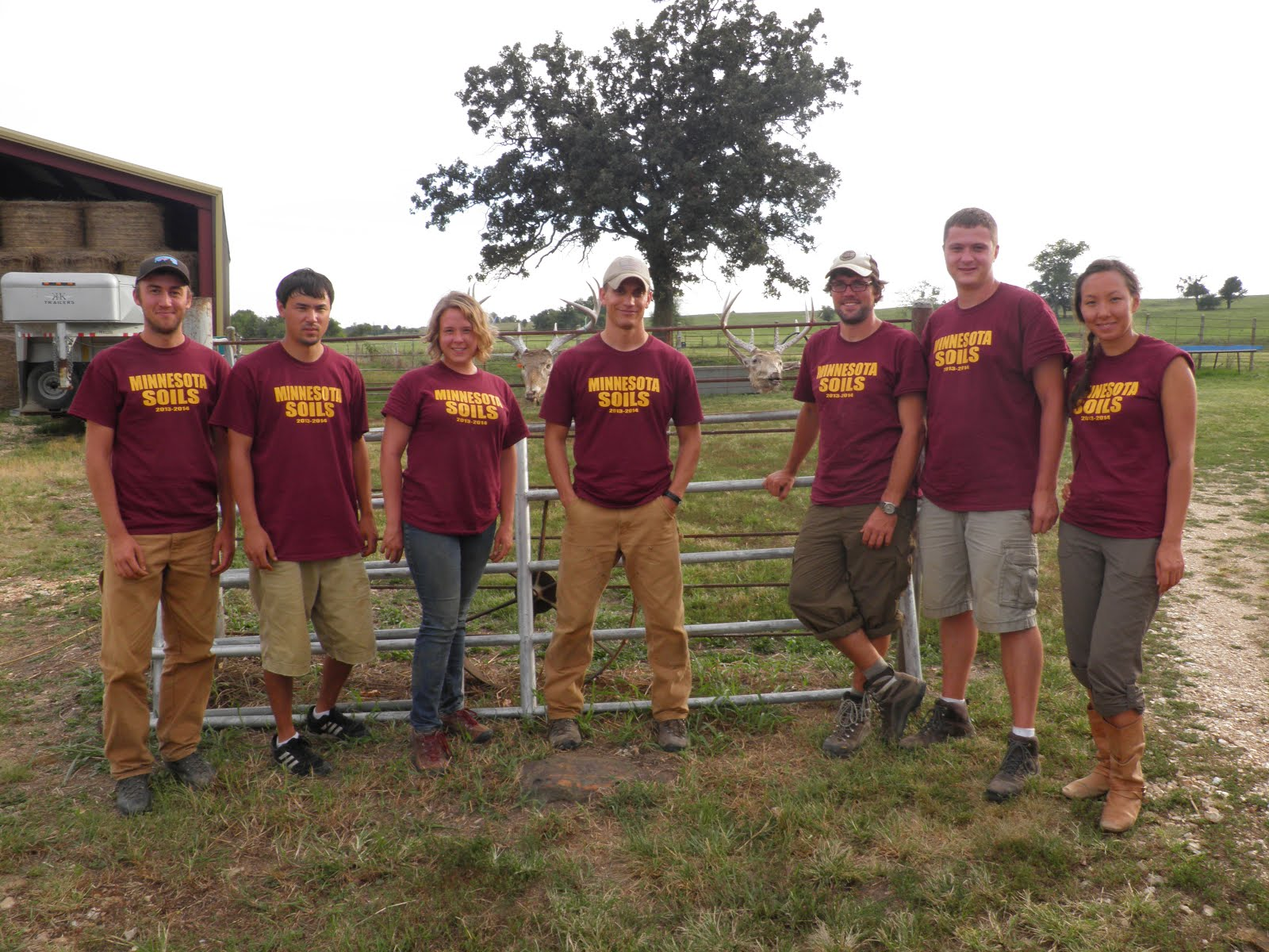 2013 University of Minnesota Soil Judging Team