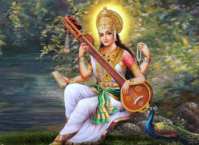 Happy Basant Panchami 2014 HD Images and Pictures Maa Saraswati