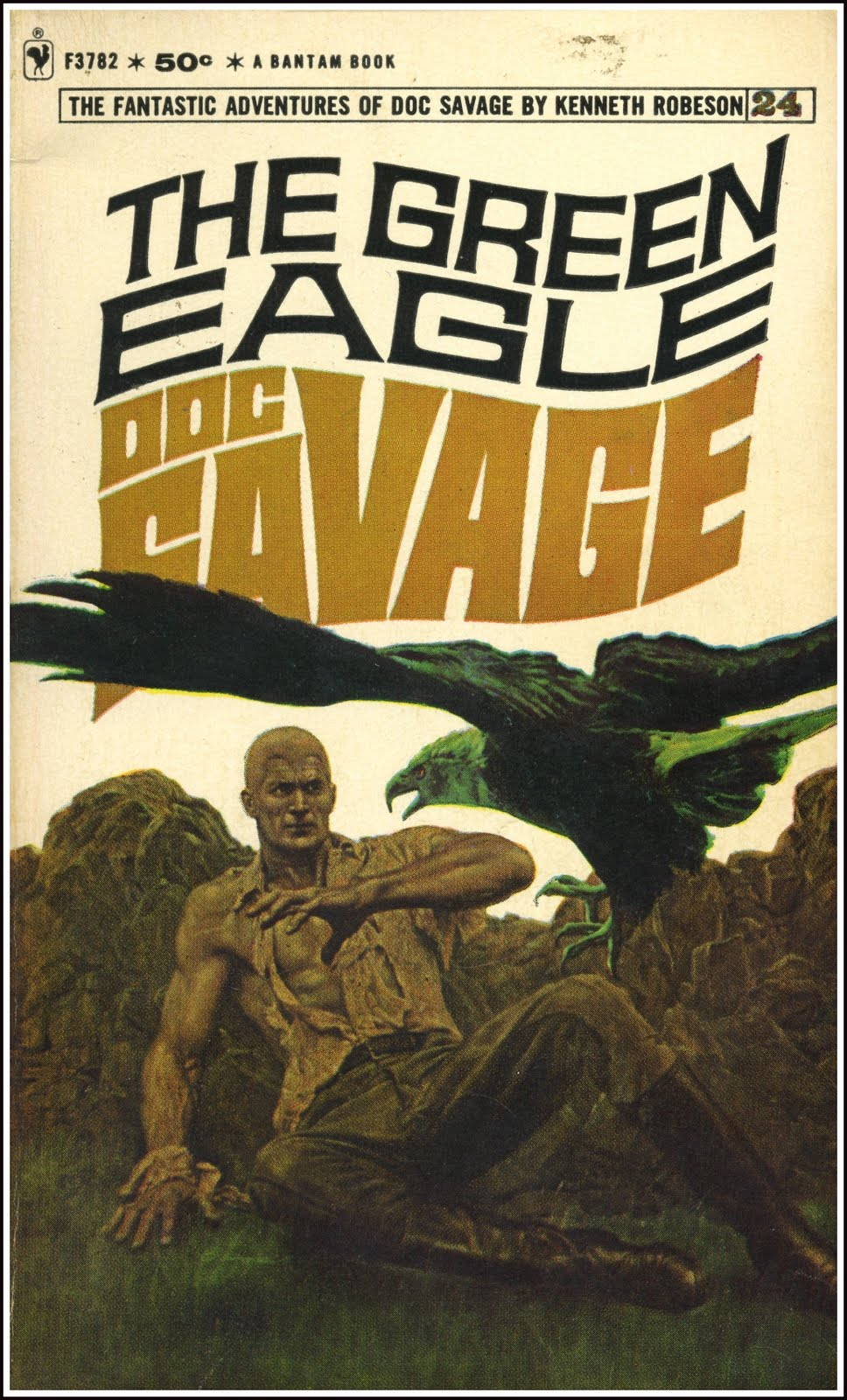 The Man of Bronze (Doc Savage 1) by Kenneth Robeson