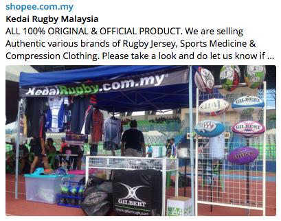 Shopee - Kedairugby Malaysia