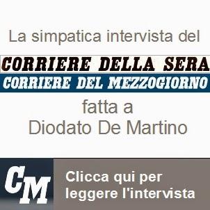 L'intervista al Corriere del Mezzoggiorno