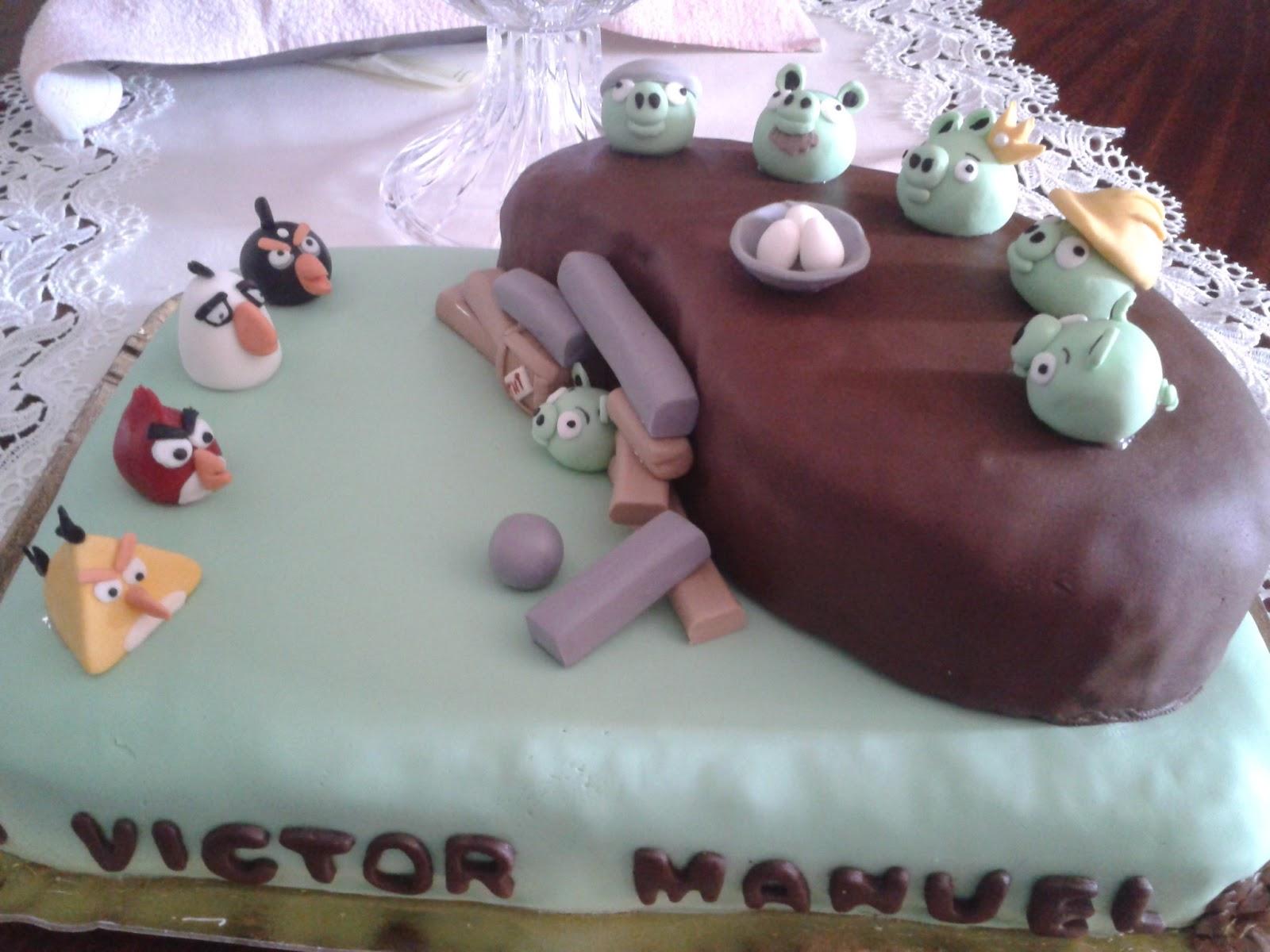 Cupcakes tenerife tarta andry birds - Cupcakes tenerife ...