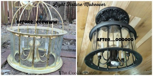 Light Fixture Makeover