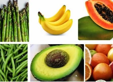 makanan kaya asam folat