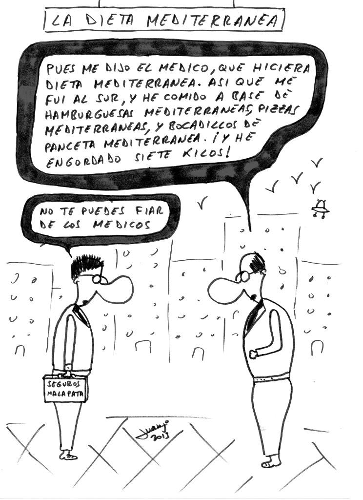 Humor ti la dieta mediterr nea - La mediterranea ...
