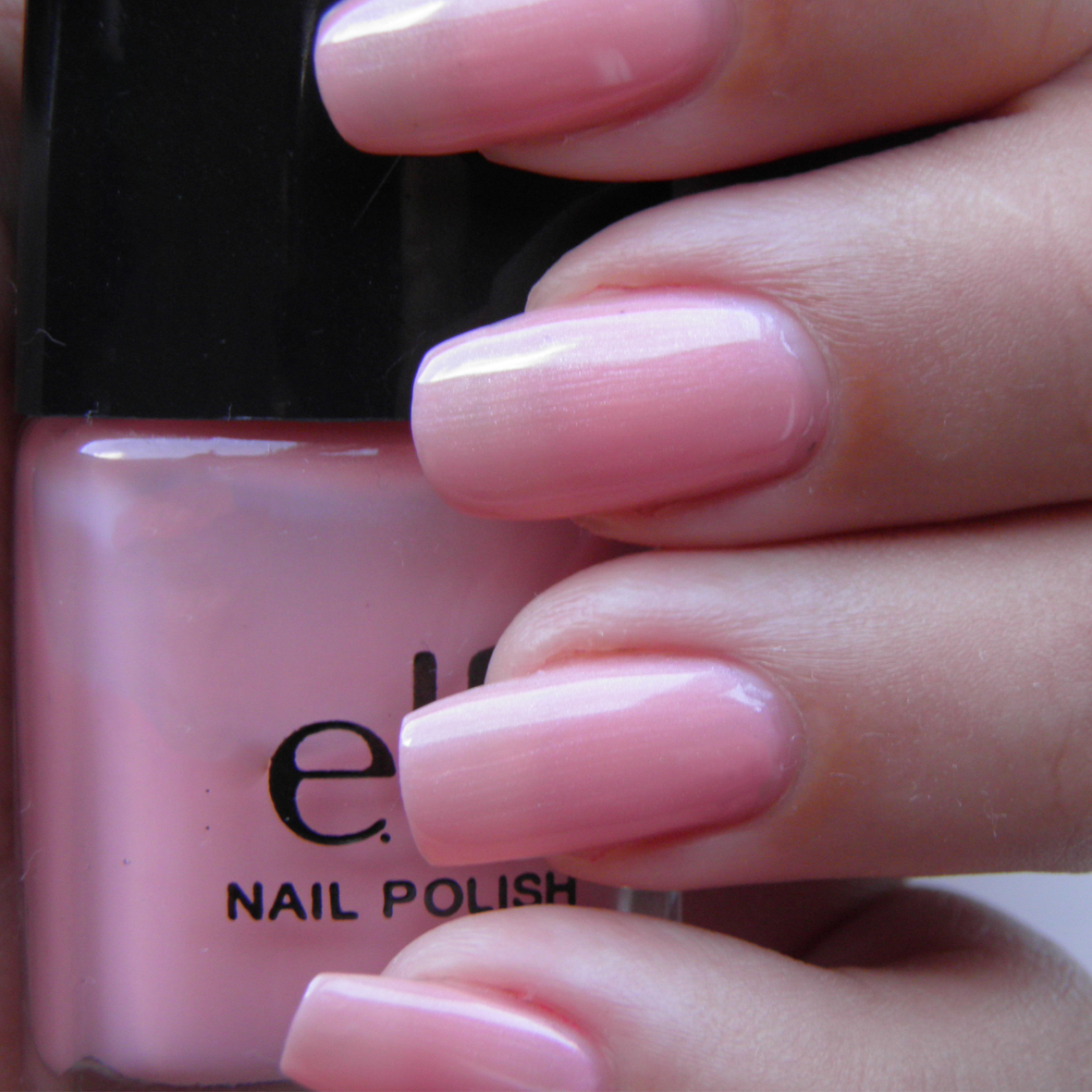 Light Pink I Used 3 Coats For This Nail Polish