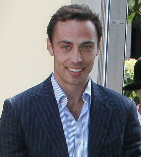 James Middleton desnudo