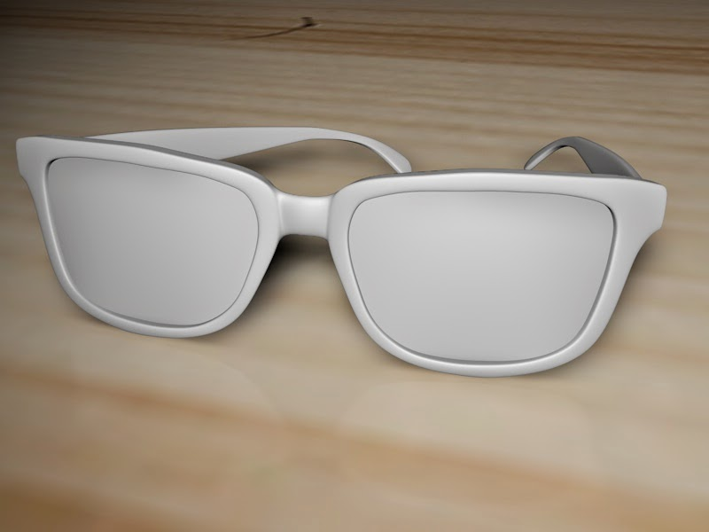 Glasses  Model Render