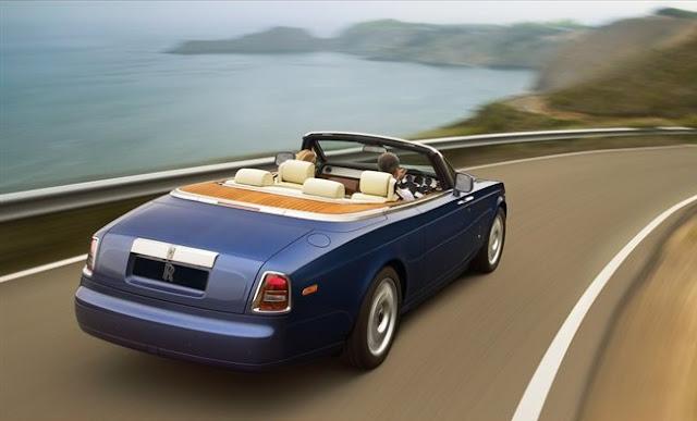 Rolls Royce no Brasil - Conversível