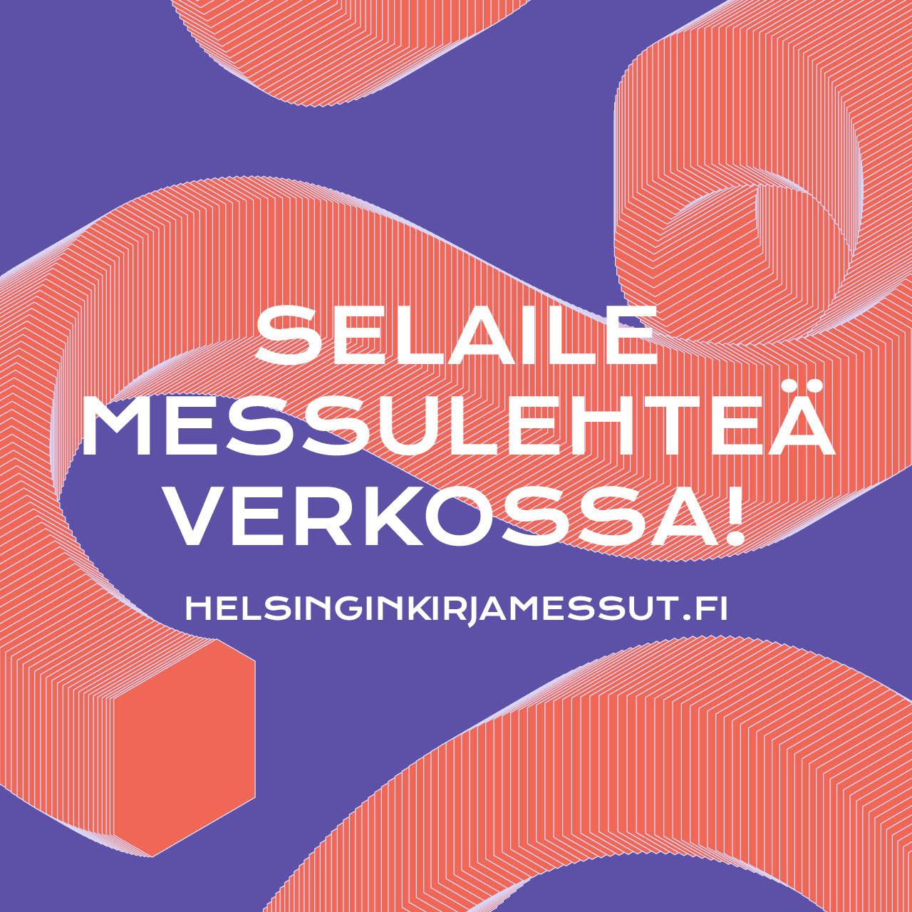Helsingin kirjamessut verkossa 2020