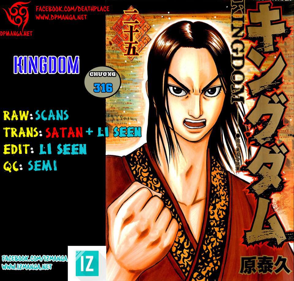 Kingdom – Vương Giả Thiên Hạ (Tổng Hợp) chap 316 page 1 - IZTruyenTranh.com