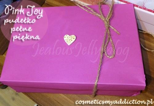 Pierwsze pudełko Pink Joy - grudzień 2013