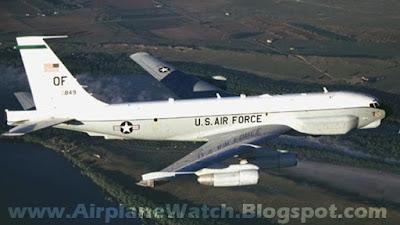 US Boeing RC 135 Rivet Joint Reconnaissance Aircraft