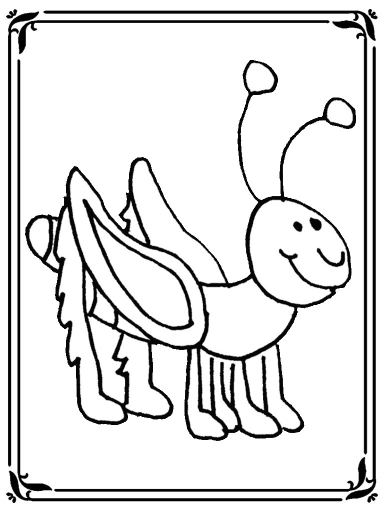 Locust Coloring Pages Realistic Coloring Pages Locust Coloring Page