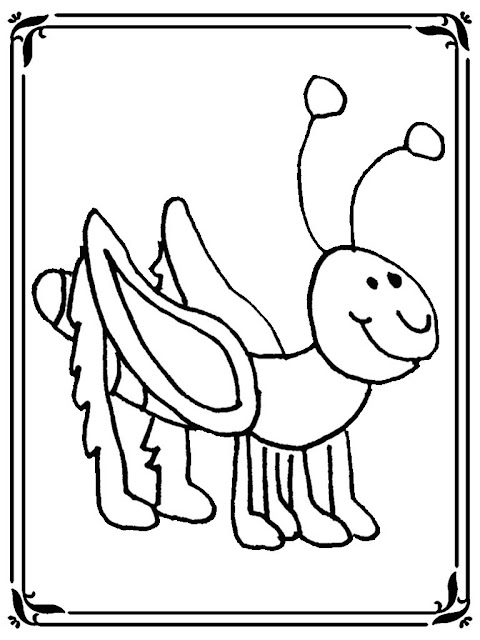 locust coloring pages