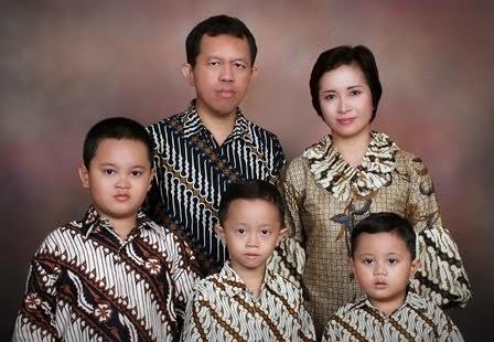 Keluarga Wahyurudhanto 2008