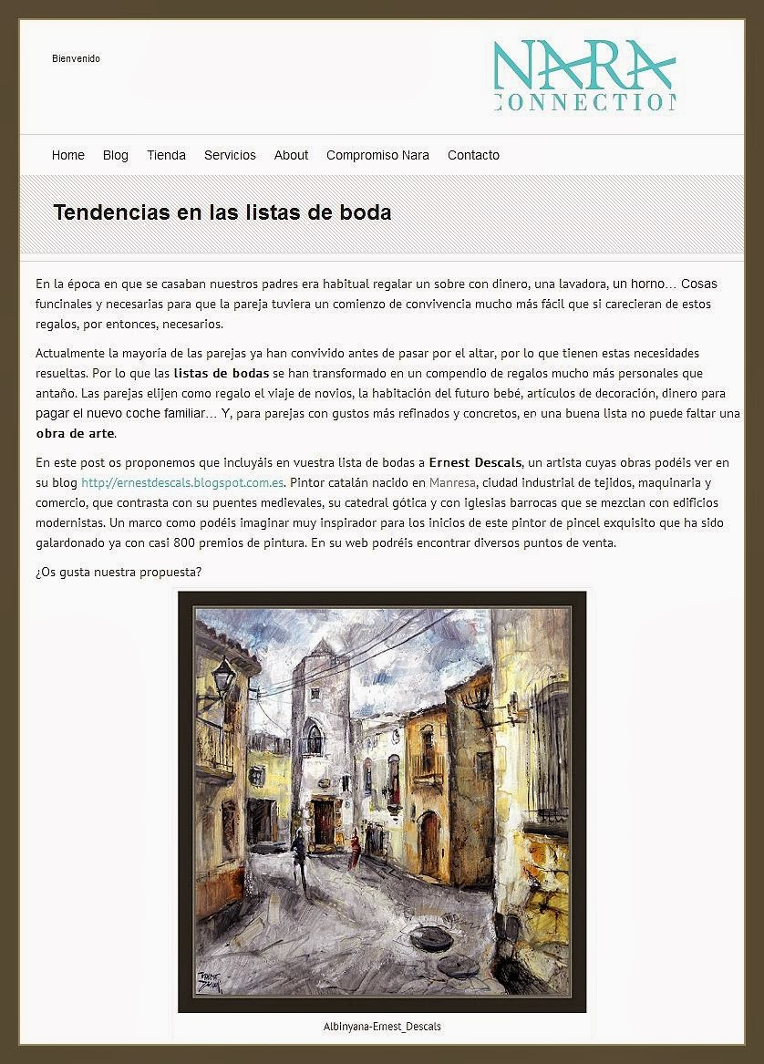 Ernest Descals.Artista Pintor: LISTAS DE BODA-CONSEJOS-REGALOS ...