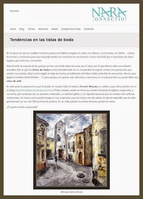 LISTAS DE BODA-PINTURA-ARTE-CUADROS-PINTOR-ERNEST DESCALS