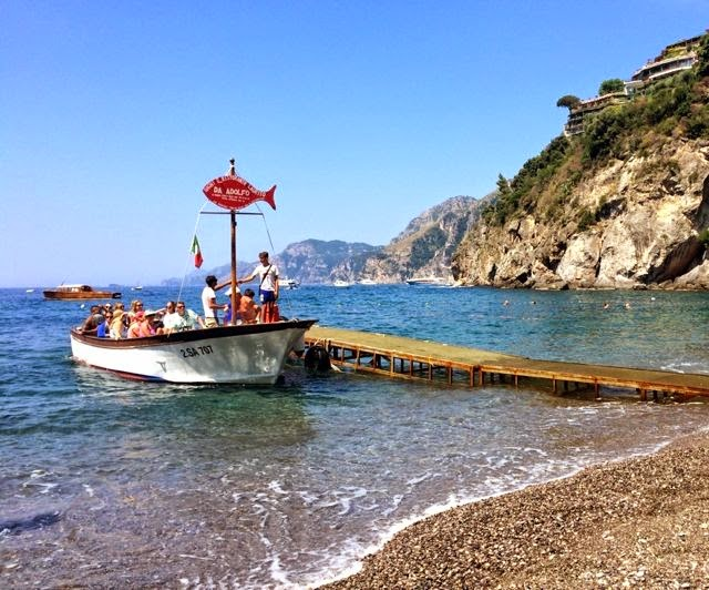Best beach in Positano