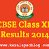 CBSE 12th Class Result 2014