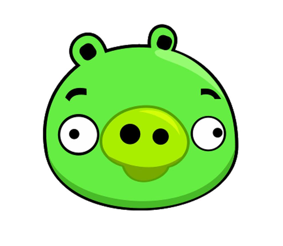 La super mamy angry birds plantillas para decorar globos for Angry bird pig template