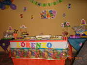 . outra paulistana, que com elementos simples fez uma linda festa em casa.