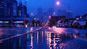 The weather in Melbourne has definetly turned a corner and announced that . (melbourne australia rain)