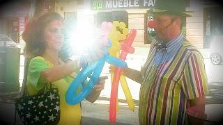 Actuación en fiesta infantil en Huelva