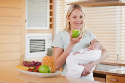 Gambar Pantangan Makanan Ibu Menyusui