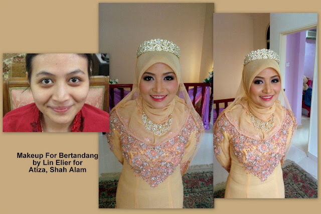 natural makeup pengantin