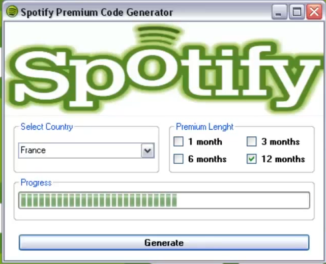 how to get free spotify premium codes