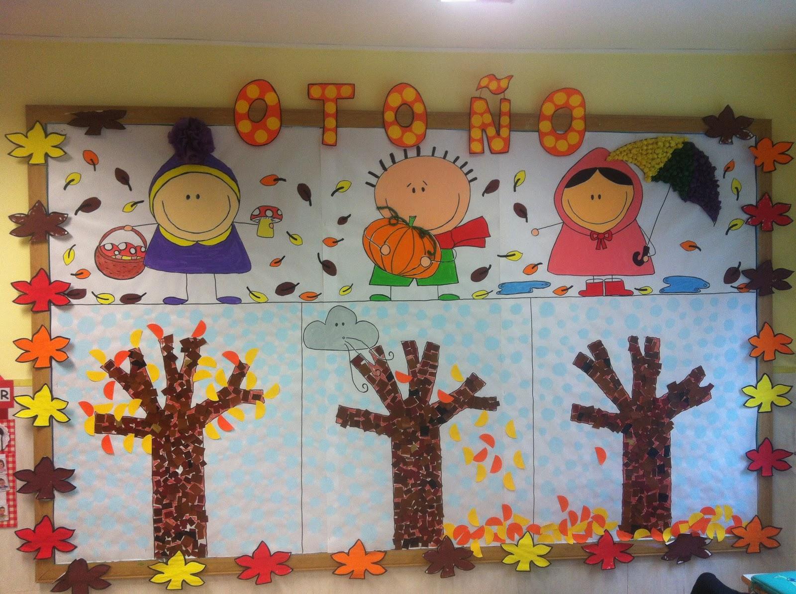 Se orita gominola mural de oto o for Decoracion otono infantil