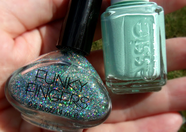 Baby Baby Baby & Essie Mint Candy Apple