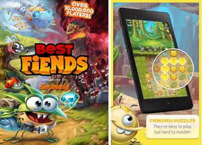 Best Fiends 2.1.2 Mod Apk Unlimited Money