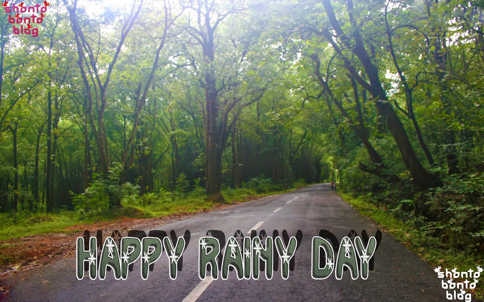 wallpaper of happy rainy day impremedianet