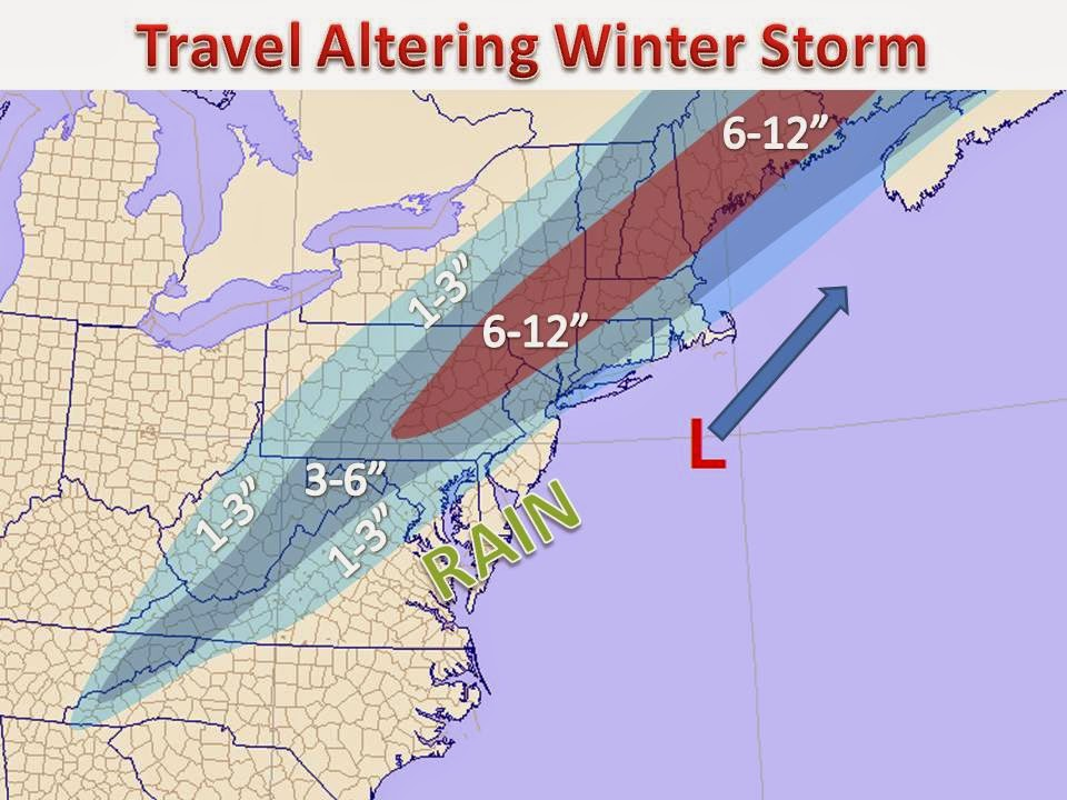 Midwest winter weather blog thanksgiving travel to the for Winter vacation east coast