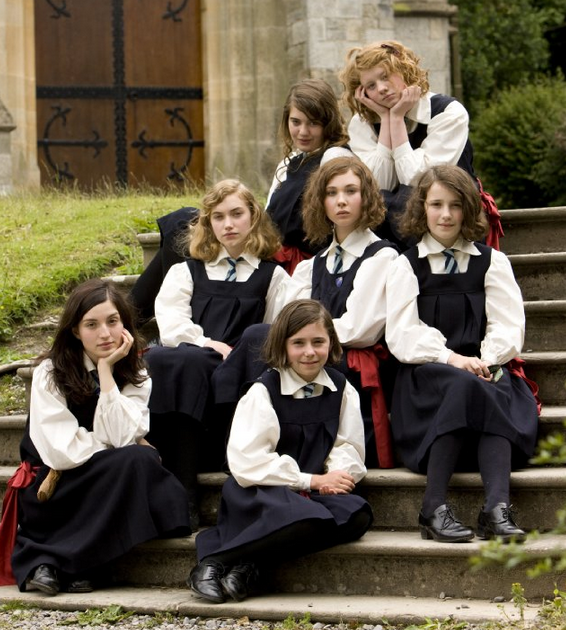 school films such as cracks and the woods use a school uniform ...