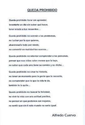 Alfredo Cuervo - Queda prohibido