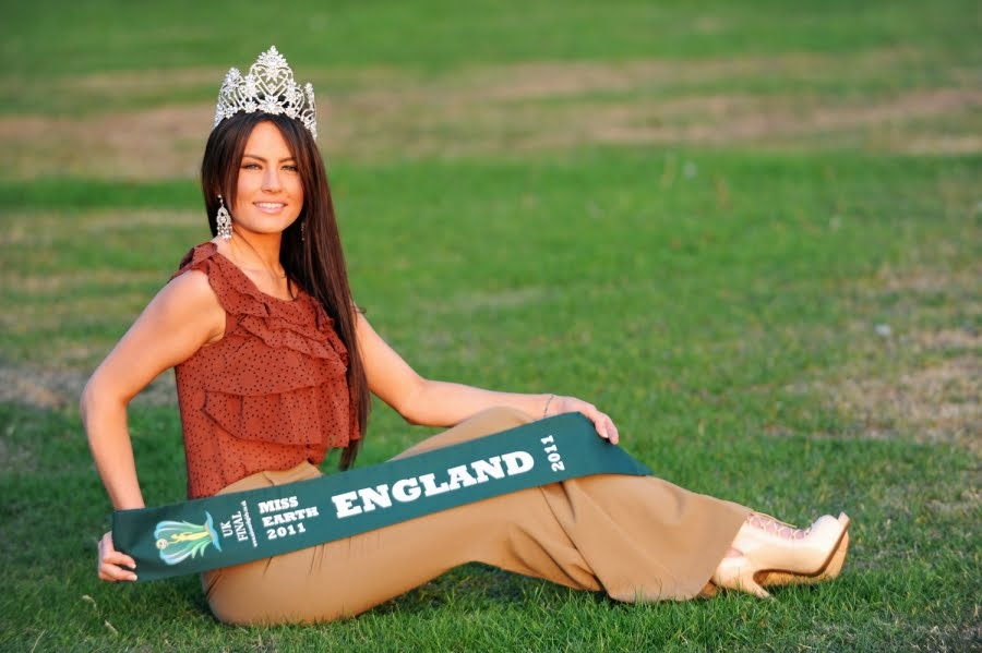 RoxanneSmith,Miss Earth England 2011,miss england earth 2011