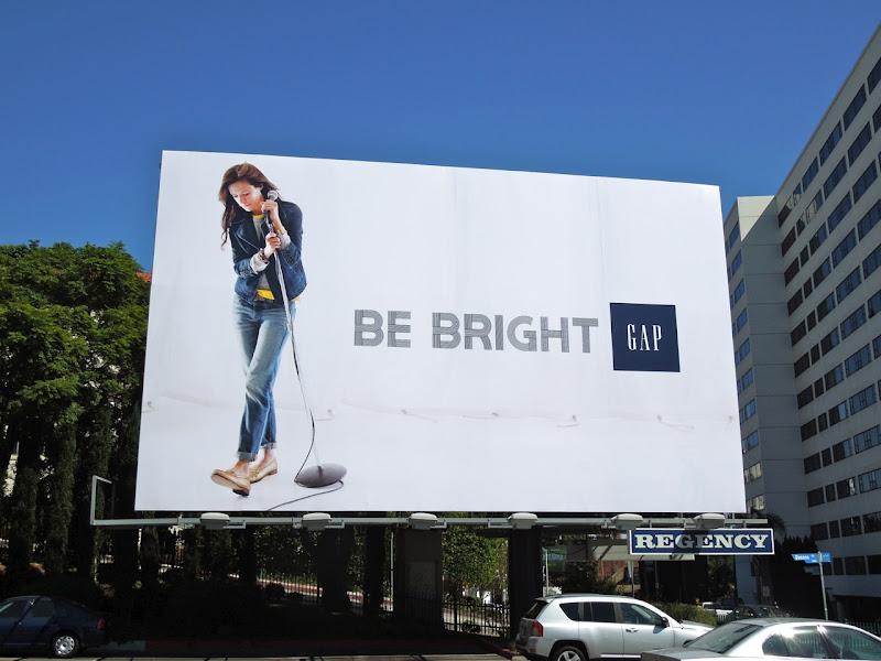 Gap Nicki Bluhm Modern Icons billboard