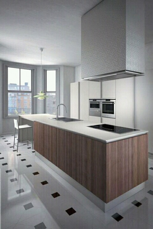 New home designs latest modern kitchen cabinets designs for Latest kitchen designs